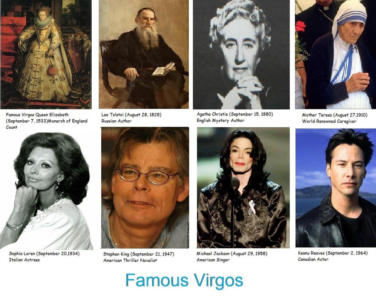 Какие великие люди родились под знаком девы