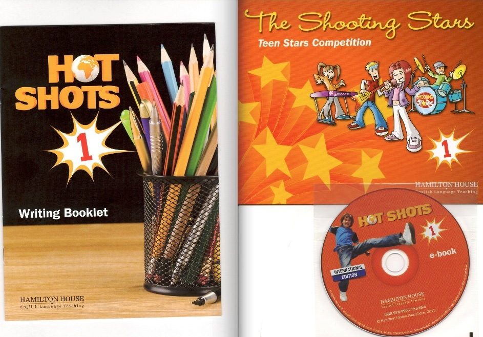 В конце учебника в кармашке удобно расположились диск, буклет с комиксом и брошюрка с заданиями по письму